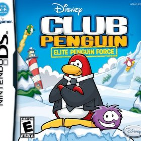 The cover art of the game Club Penguin: Elite Penguin Force.
