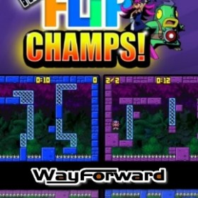 The cover art of the game Mighty Flip Champs! DX.