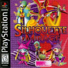The cover art of the game Silhouette Mirage.