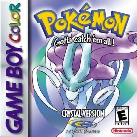 The cover art of the game Pokemon - Crystal Version (Celebi Patched).