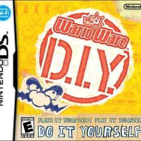 The cover art of the game WarioWare D.I.Y..
