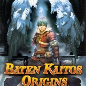 The cover art of the game Baten Kaitos Origins.
