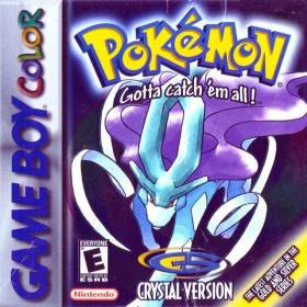 The cover art of the game Pokemon Perfect Crystal.