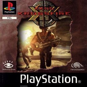 The cover art of the game KKnD: Krossfire.