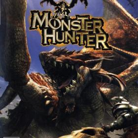 The cover art of the game Monster Hunter.