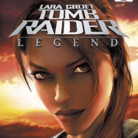 The cover art of the game Tomb Raider: Legend.
