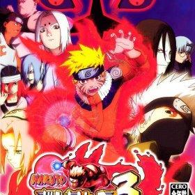 The cover art of the game Naruto: Narutimate Hero 3.