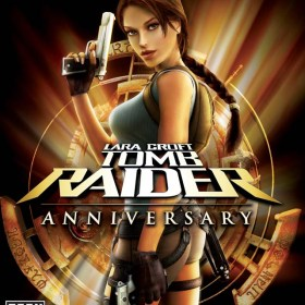 The cover art of the game Tomb Raider: Anniversary.