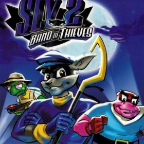 The cover art of the game Sly 2: Band of Thieves.