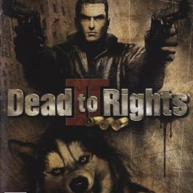 The cover art of the game Dead to Rights II.