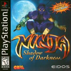 The cover art of the game Ninja: Shadow of Darkness.