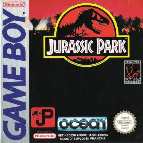 The cover art of the game Jurassic Park.