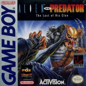 The cover art of the game Alien vs. Predator: The Last of His Clan.