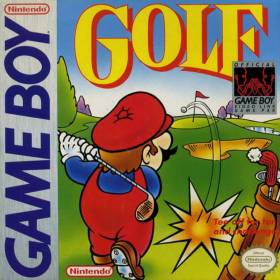 The cover art of the game Golf.
