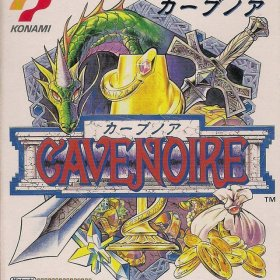 The cover art of the game Cave Noire.