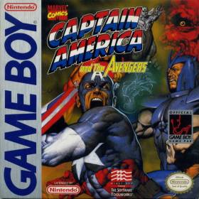 The cover art of the game Captain America and the Avengers .