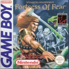 The cover art of the game Wizards & Warriors Chapter X - The Fortress of Fear .