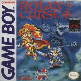 The cover art of the game Rolan's Curse.