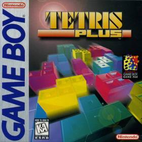 The cover art of the game Tetris Plus .