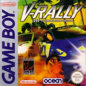 The cover art of the game V-Rally - Championship Edition .