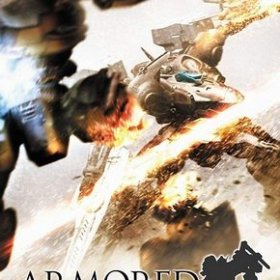 The cover art of the game Armored Core 3 Portable.