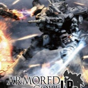 The cover art of the game Armored Core: Last Raven Portable.