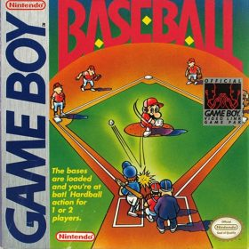 The cover art of the game Baseball .