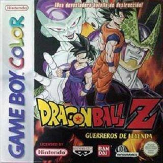 The coverart image of Dragon Ball Z - Guerreros de Leyenda
