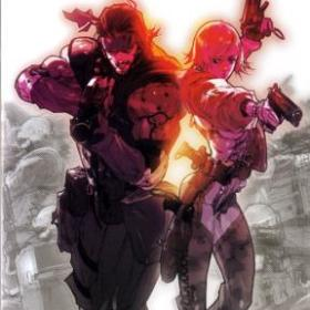 The cover art of the game Metal Gear Acid.
