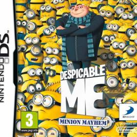 The cover art of the game Despicable Me: Minion Mayhem.