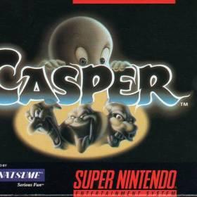 The cover art of the game Casper.