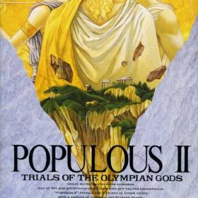 The coverart thumbnail of Populous II - Trials of the Olympian Gods