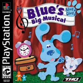 The cover art of the game Blue's Clues: Blue's Big Musical.