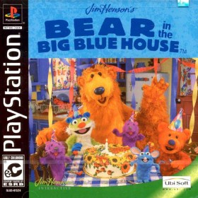 The cover art of the game Bear in the Big Blue House.