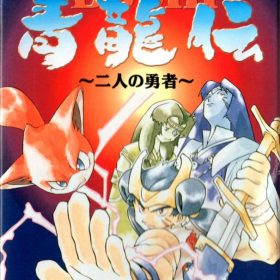 The cover art of the game Bushi Seiryuuden - Futari no Yuusha .