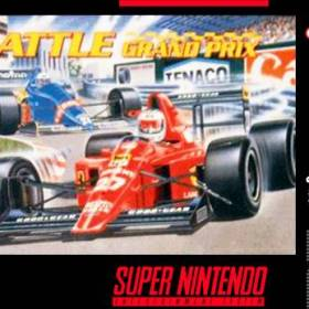 The cover art of the game Battle Grand Prix.