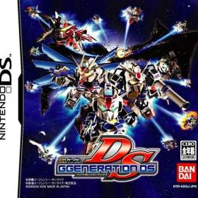 The cover art of the game SD Gundam G Generation DS.