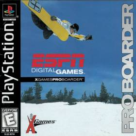 The coverart thumbnail of ESPN X-Games Pro Boarder