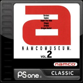 The coverart thumbnail of Namco Museum Vol. 2