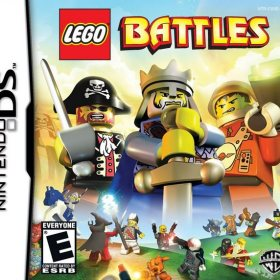 The cover art of the game LEGO Battles.