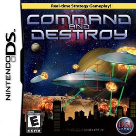 The cover art of the game Command And Destroy.