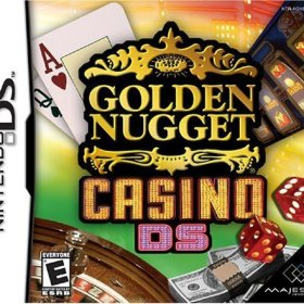 The cover art of the game Golden Nugget Casino DS.