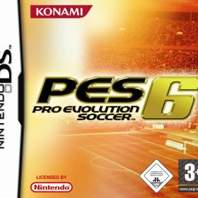 The cover art of the game Pro Evolution Soccer 6.