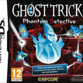 The cover art of the game Ghost Trick: Phantom Detective.