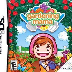 The cover art of the game Gardening Mama.