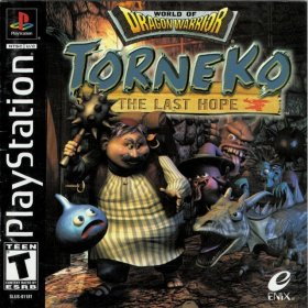 The cover art of the game World of Dragon Warrior: Torneko - The Last Hope.