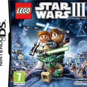 The cover art of the game LEGO Star Wars III: The Clone Wars.