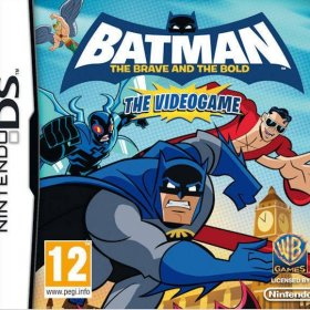 The cover art of the game Batman: The Brave and the Bold - The Videogame.