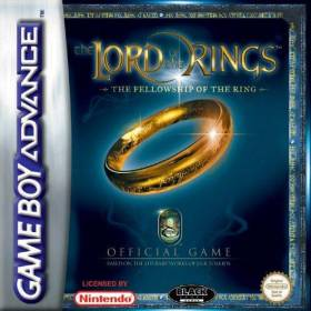 The cover art of the game The Lord of the Rings - The Fellowship of the Ring.