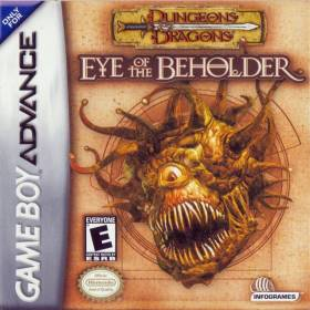 The cover art of the game Dungeons and Dragons - Eye of the Beholder.
